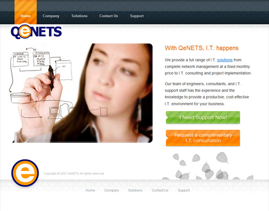 QeNETS Website